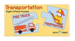 Matching Puzzles: Transportation by Rich Frog