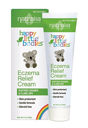 Happy Little Bodies Eczema Relief Cream by Natralia