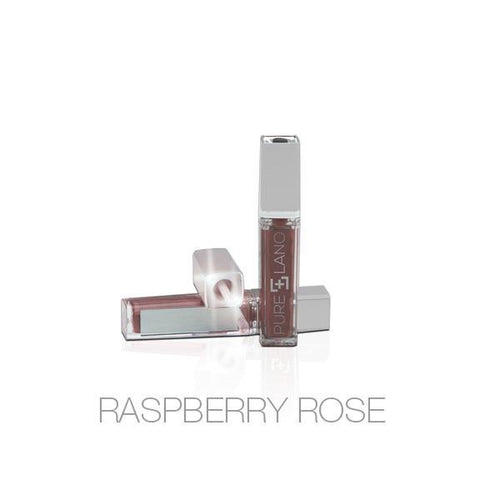 Natural Hydrating Lip Gloss in Raspberry Rose by Pure Lano