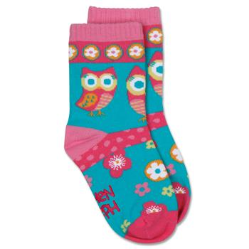 Owl & Butterfly Toddler Sock Sets by Stephen Joseph (Size 4T)