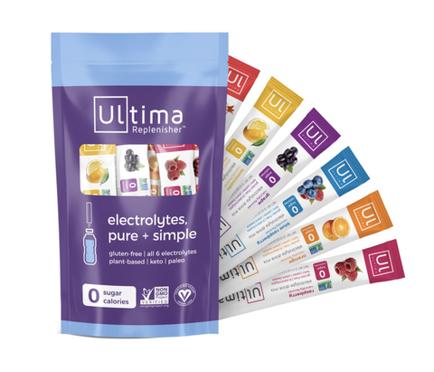 Ultima Replenisher Electrolyte Hydration Powder - 6 Flavors Stickpack