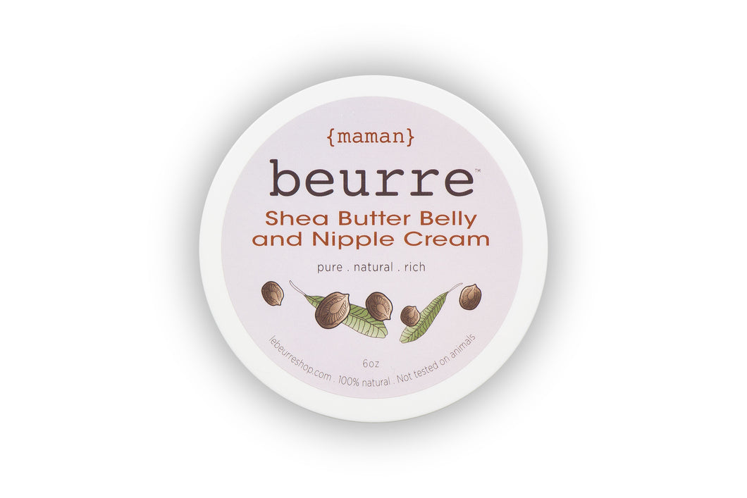 Shea Butter Nipple & Belly Cream by Beurre Maman