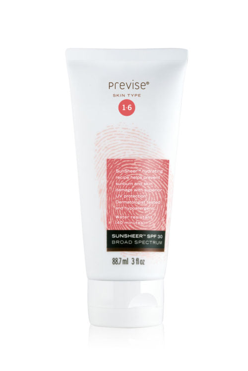 SPF 30 Sunscreen Moisturizer by Previse SkinCare