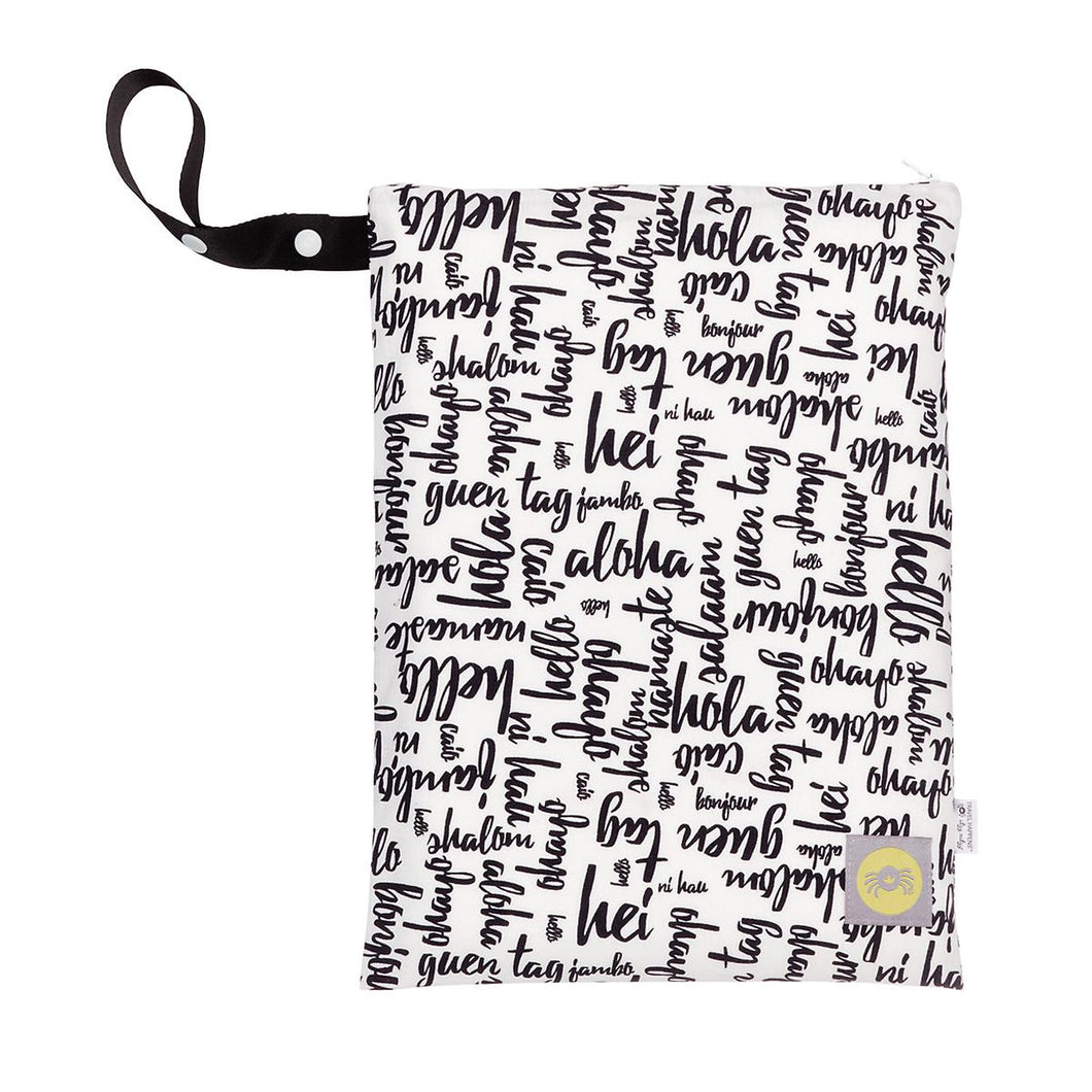 Travel Happens Hello Wet Bag by Itzy Ritzy
