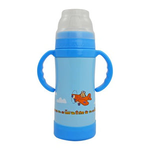Insulated Stainless Steel Sippy by Eco Vessel (blue)