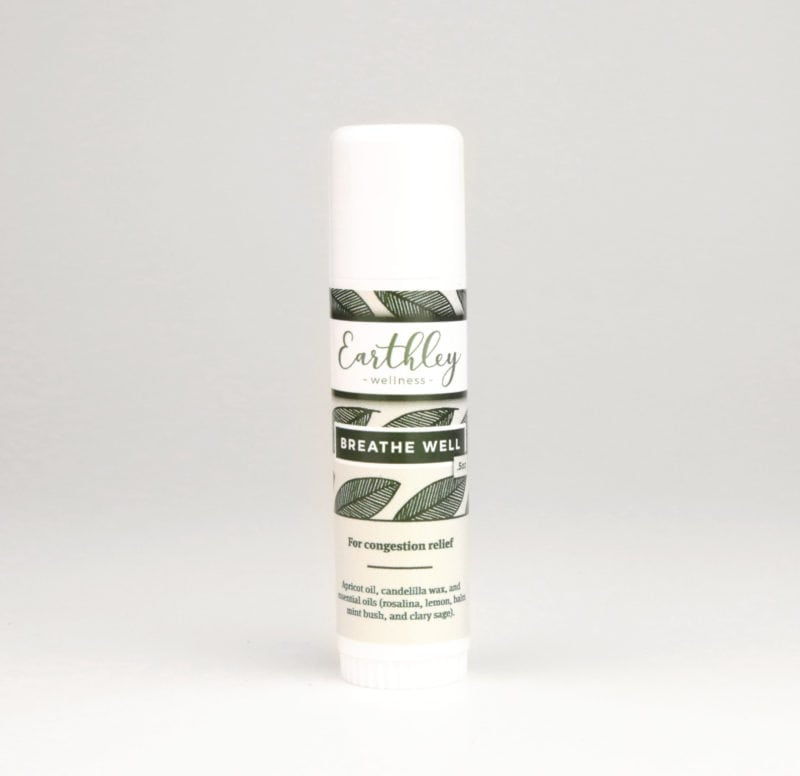 Breathe Well Salve By Earthley