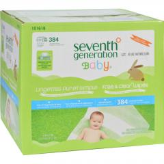 Free and Clear Baby Wipes by Seventh Generation