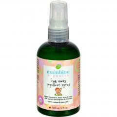Bug Away Insect Repellent Spray by Mambino Organics - 4 fl oz