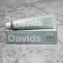 Premium Natural Toothpaste by David's