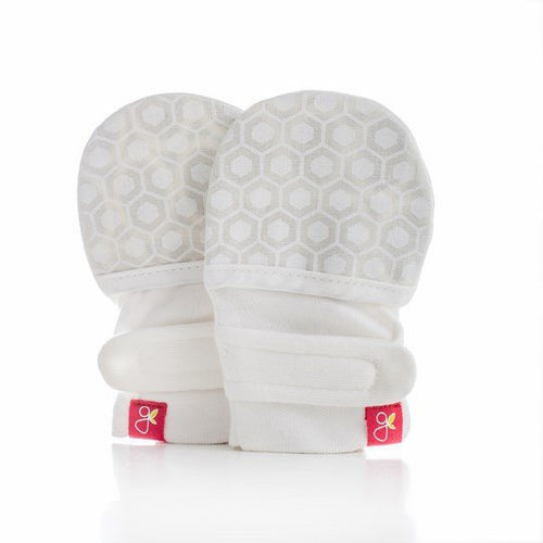 Honeycomb (Cream) Goumimitts by GoumiKids