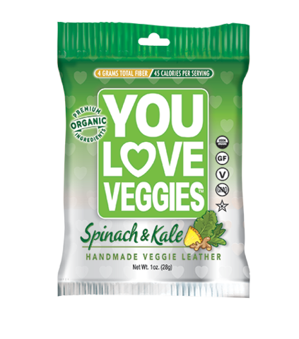 You Love Veggies Leather (Kale Spinach)