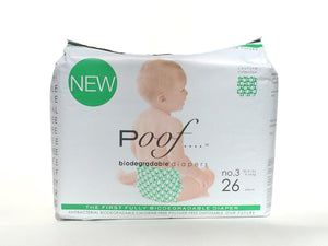 Bio Disposable Diapers by Poof