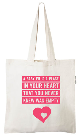 Ecocentric Mom Pregnancy Tote Bag