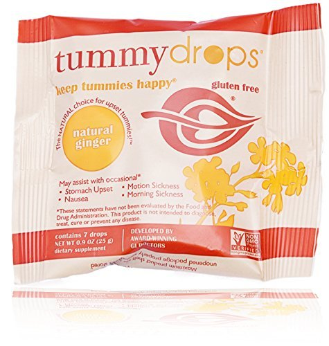 Natural Ginger Tummydrops by Tummydrops (7 count)