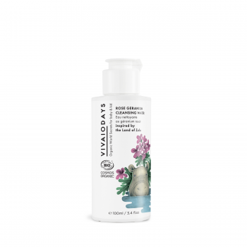 VIVAIODAYS | ROSE GERANIUM CLEANSING WATER inspired by the Land of Zulu