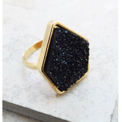 New Years Eve Druzy Ring