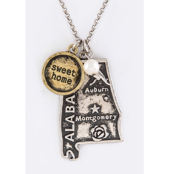 Alabama Mix Charms Necklace Set