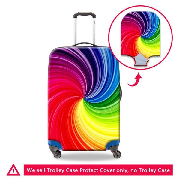 Anti-Dust Travel Colorful Luggage