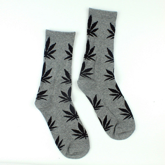Summer Long Weed Socks