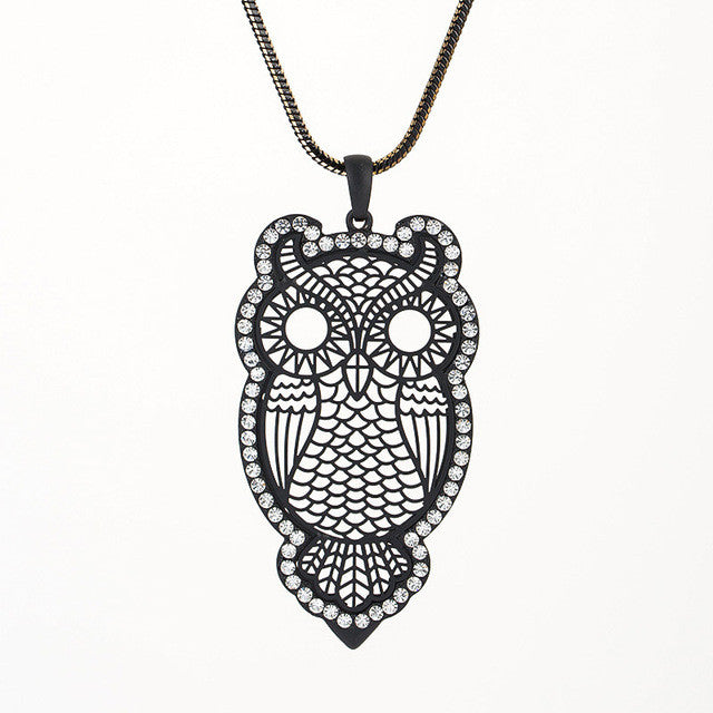 Farley Owl Necklace