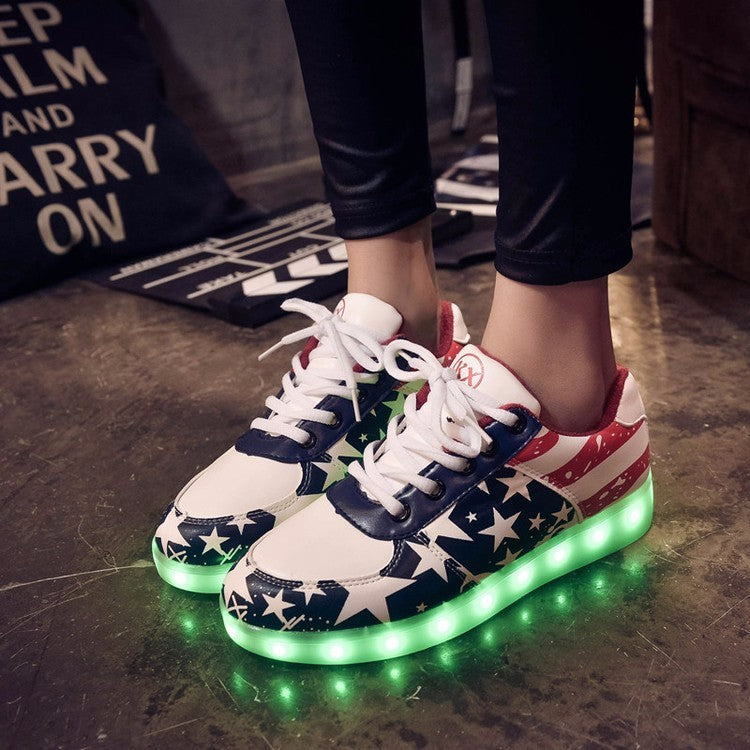 ⭐Patriots Led Sneakers⭐