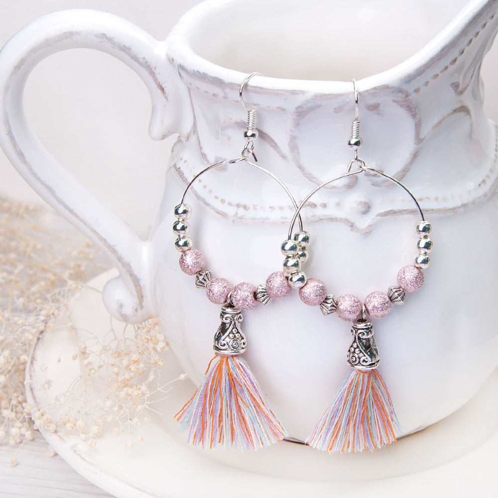 Drop Loop Earrings