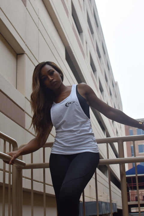 Women's Tank - White/Black