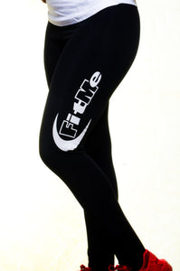 Leggings - Black/White FitMe