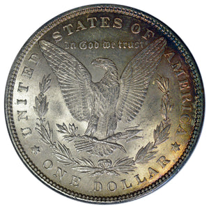 RAINBOW! Silver Morgan Dollar 1882 BU - Coin