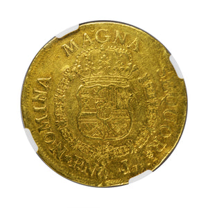 Colombia - Gold 8 Escudos 1762-PN J XF-40 NGC - Coin