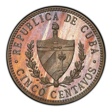 Cuba 1915 Copper-Nickel 5 Centavos PR-65 PCGS - Proof Coin