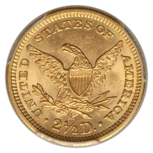 HIGH GRADE! Gold $2.50 United States 1906 MS-66 PCGS - Coin