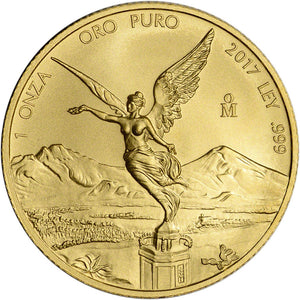 Gold Libertad Mexico 2017 1oz BU - Coin