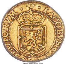 Gold Sword and Scepter James VI 1602 VF-35 PCGS - Coin