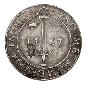 Scotland - Silver AR Sword Ryal of 30 Shillings - 1567 VF-35 PCGS - Coin