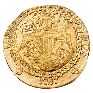 DEAL! US - 1787 (2011) Gold Ephraim Brasher Half Doubloon - Gem BU NGC