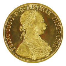 Gold 4 Ducat Austria 1915 BU/Proof (Scruffy/Abrasions) - Coin