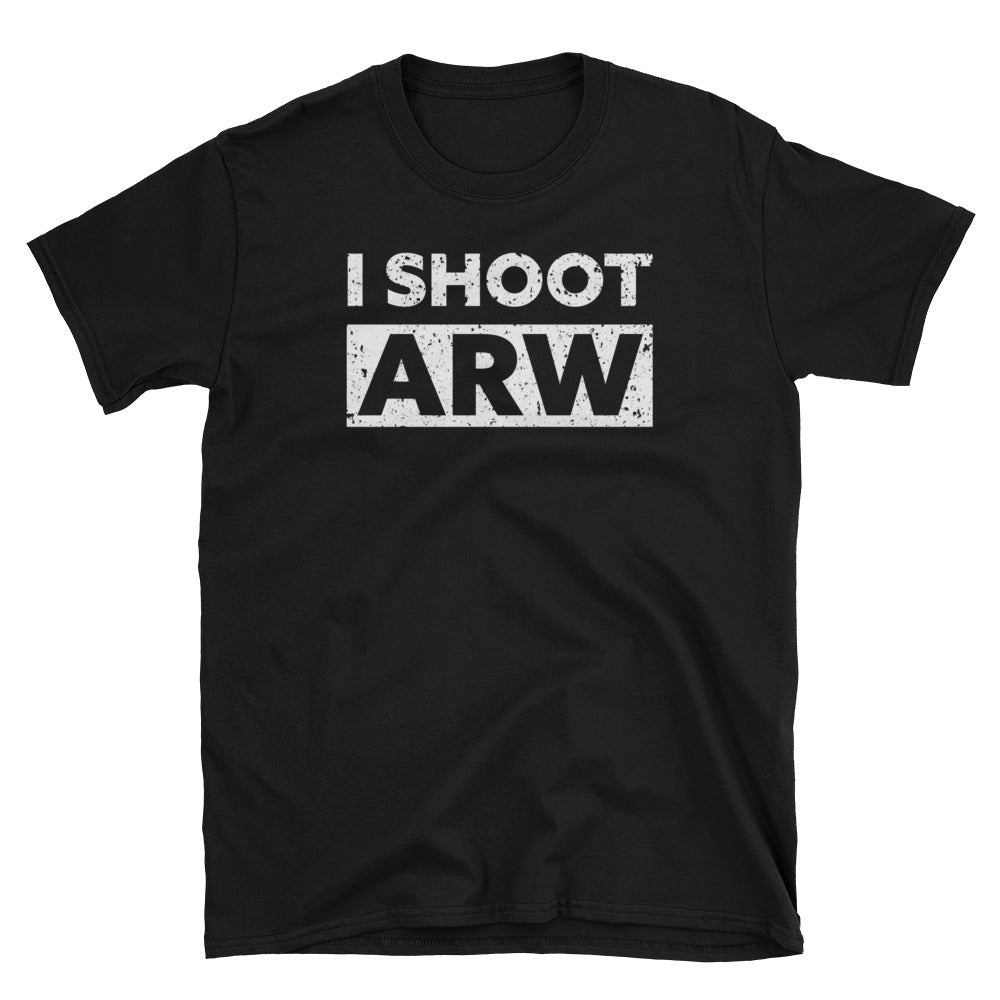I Shoot ARW RAW Format Photography T-Shirt