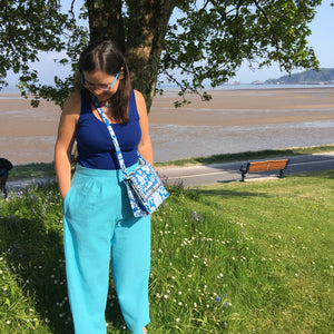 Ella's Cotton Linen Nina Lee Portobello Trousers