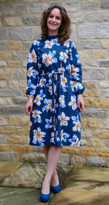 Mel's Matilda Dress from Simply Sewing using Lady McElroy cotton lawn