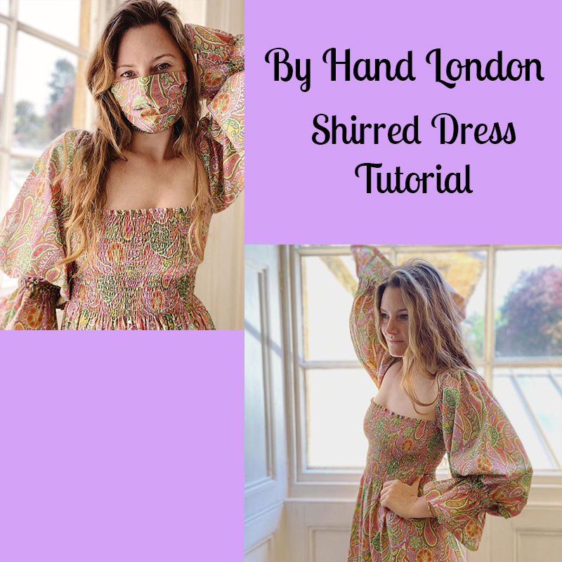By Hand London - Shirred Dress