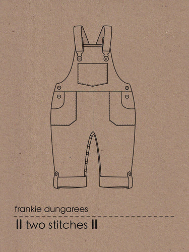 Frankie Children's Dungarees - Two Stitches - Patterns - Two Stitches - Sew Me Sunshine