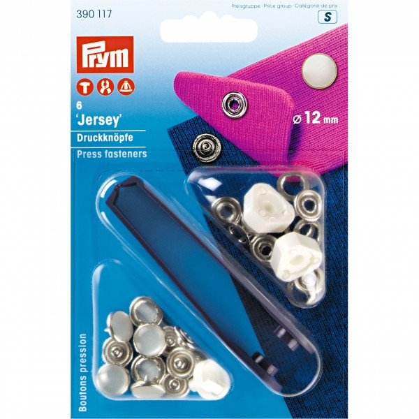 Non Sew Press Fasteners Pearl 12mm - Prym