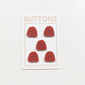 "Rust Uphill Buttons 16mm (.63"")"