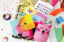 Ellbie Co. Mallow Cat Keyring Kit - Sewing Kits - Ellbie Co. - Sew Me Sunshine