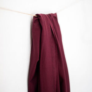 Maroon - Basic Stretch Jersey with TENCEL™ fibres - meetMILK - Fabric - meetMILK - Sew Me Sunshine