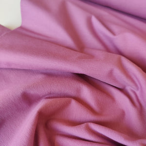 Rose Pink - Cotton Jersey