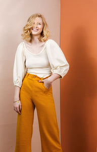 The Joan Trousers - Friday Pattern Co - Patterns - Friday Pattern Co - Sew Me Sunshine