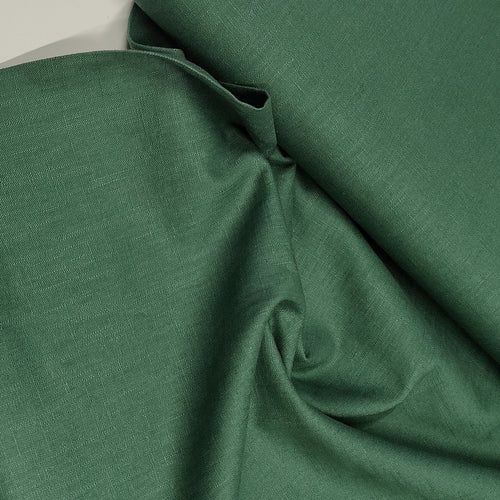 Green - Enzyme Washed Linen