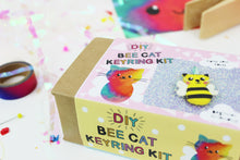 Ellbie Co. Bee Cat Keyring Kit - Sewing Kits - Ellbie Co. - Sew Me Sunshine